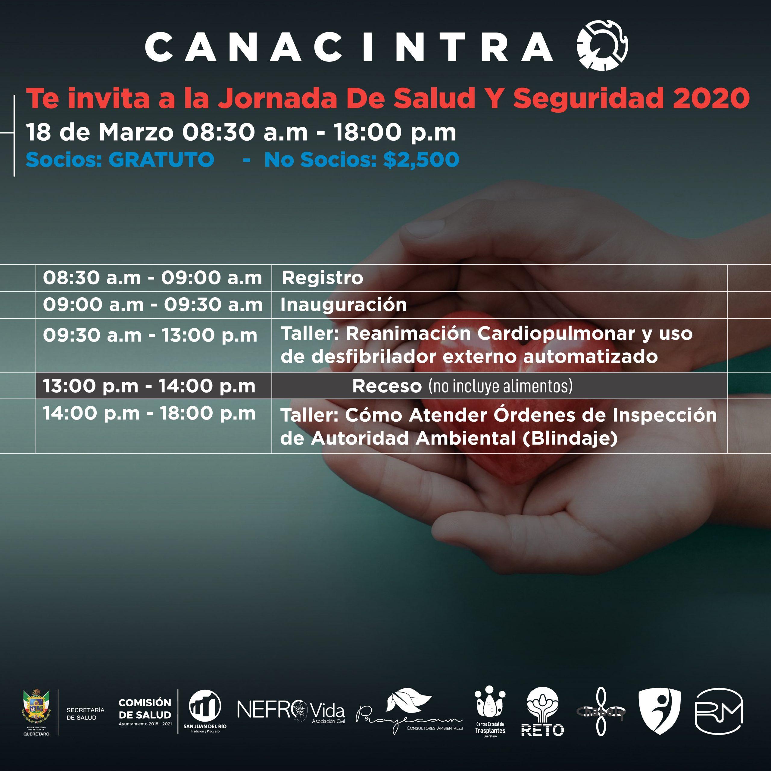 Jornada de Seguridad y Salud 2020