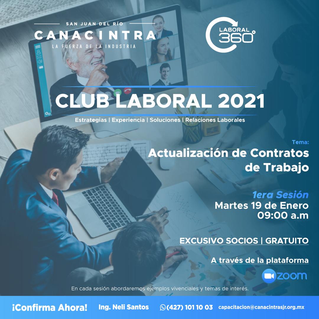 1era Sesión Club Laboral 2021
