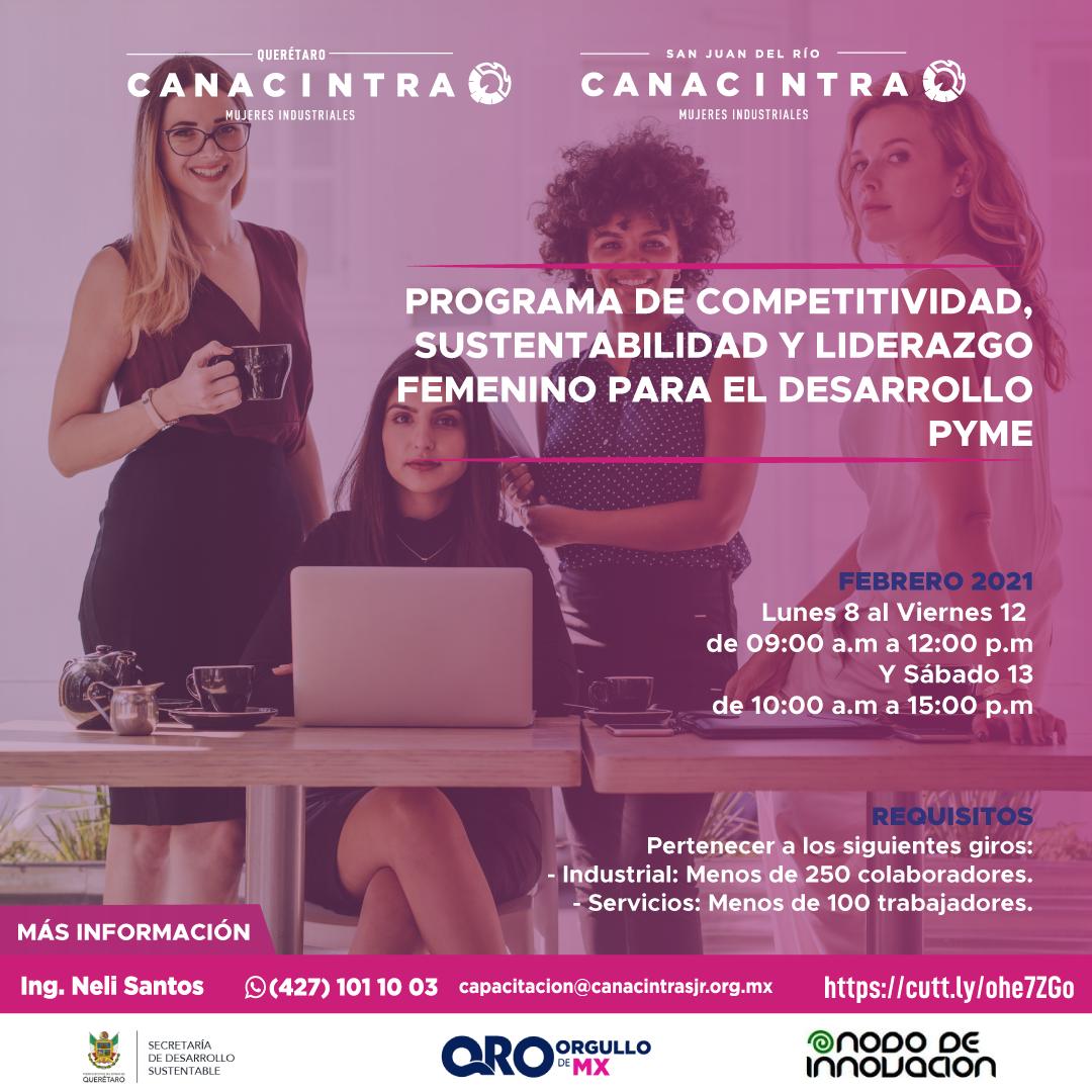 Programa de Competitividad Mujeres Empresarias
