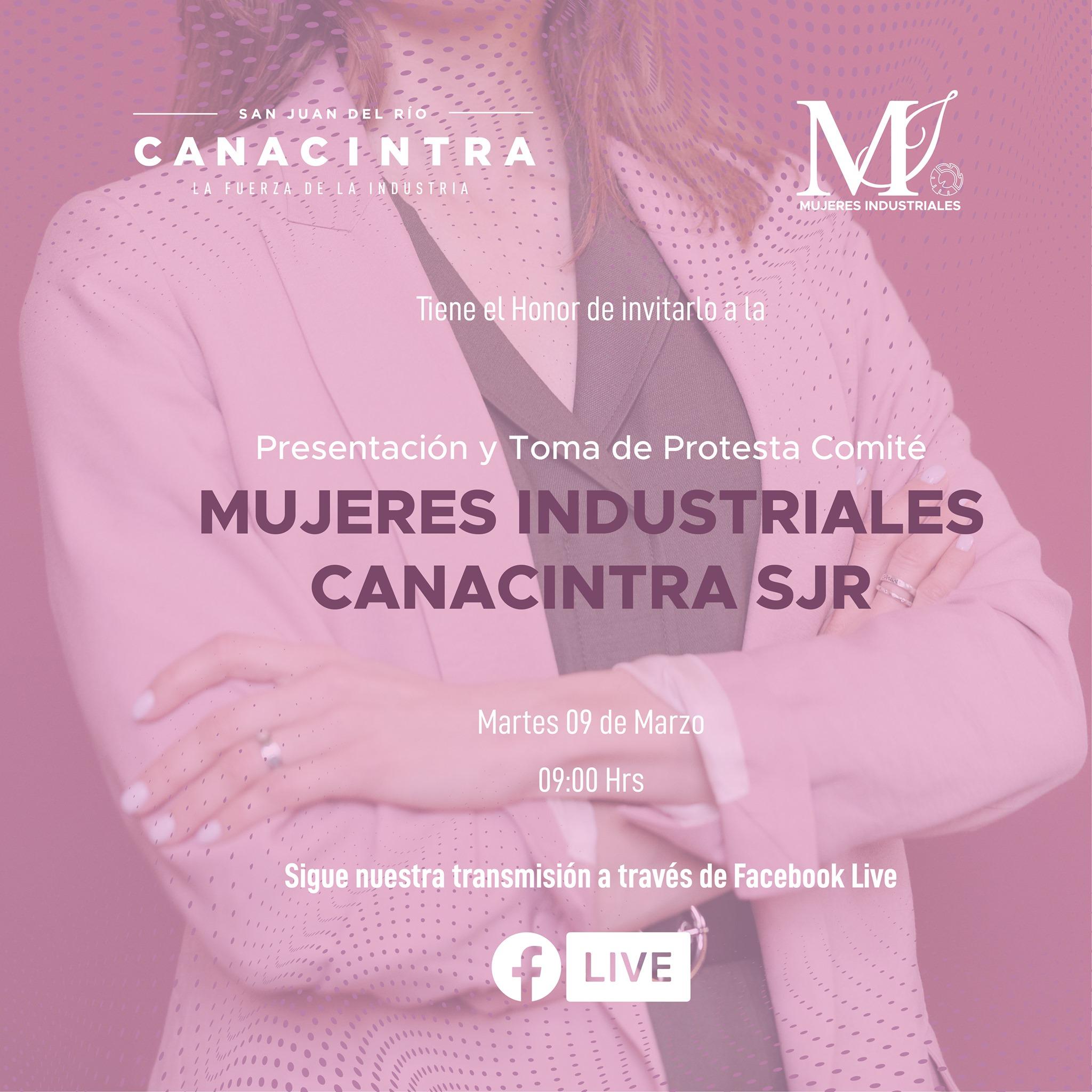 Presentación Mujeres Industriales Canacintra SJR